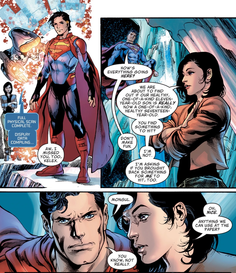 Superman #8 review – Too Dangerous For a Girl 2