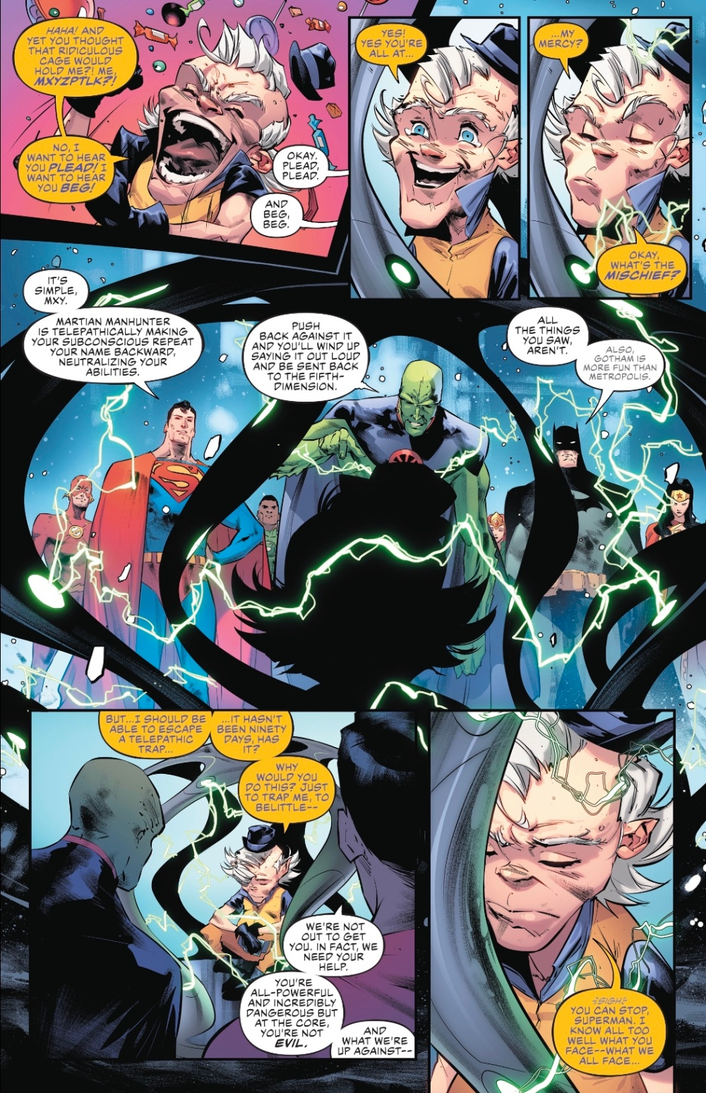 Justice League #19 review – Too Dangerous For a Girl 2
